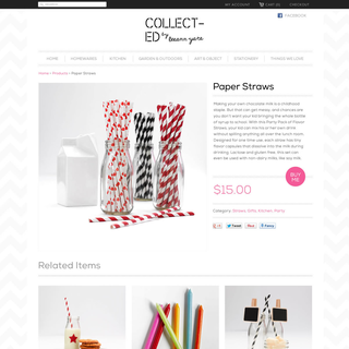 Collected by LeeAnn Yare // Product Page