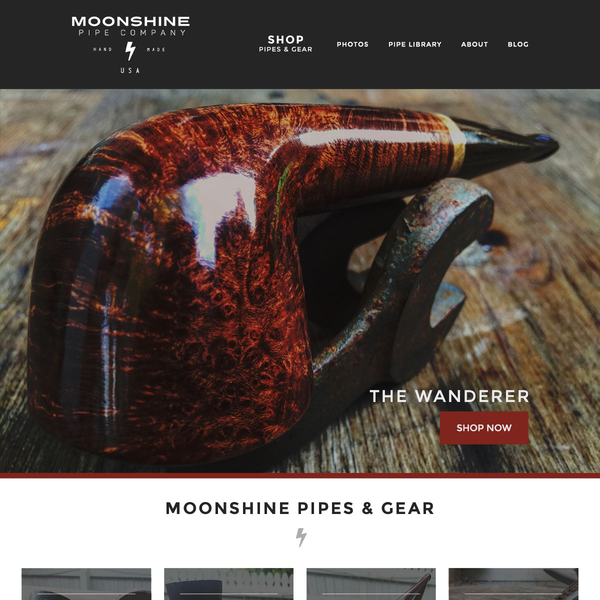 Moonshine Pipes Home page