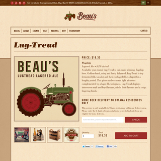 Fancy Boys - Ecommerce Designer - beaus.ca