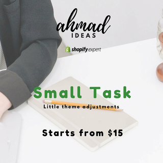 Adjustments in your Shopify theme by doing small tweaks rather than development.