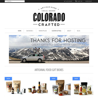 Colorado Crafted - Artisanal food boxes, unique to Colorado