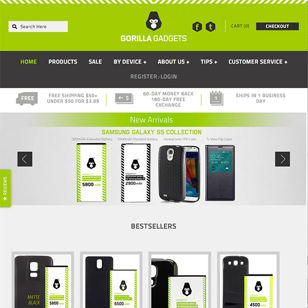 Gorilla Gadgets - Revolutionary power accessories for smartphones and tablets