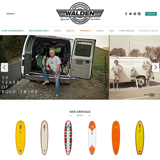 Walden Surfboards - One-of-a-kind and stock surfboards made in Ventura, CA