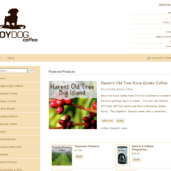 Toy Dog Coffee