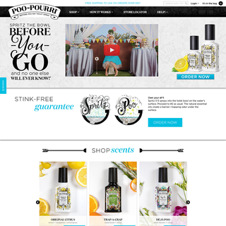 Tomorrows Designs - Ecommerce Designer / Developer / Marketer / Setup Expert - http://www.poopourri.com