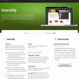 Shopify Concierge - Ecommerce Designer / Developer / Setup Expert - Searchify