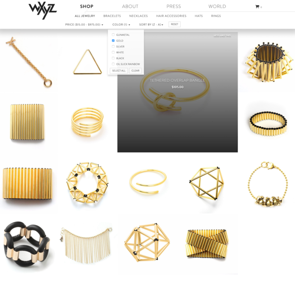 WXYZ Jewelry
