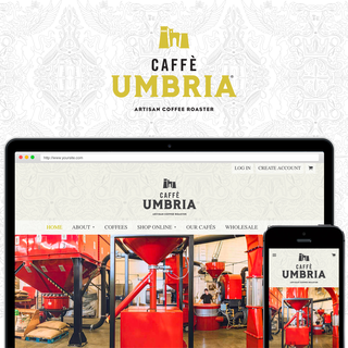 Caffè Umbria is a third-generation, wholesale coffee roasting company.