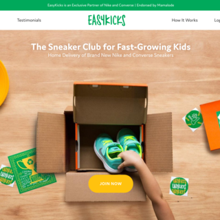 The Sneaker Club for Fast-Growing Kids!
