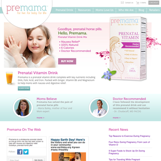 Design and development for Premama Prenatal Vitamin