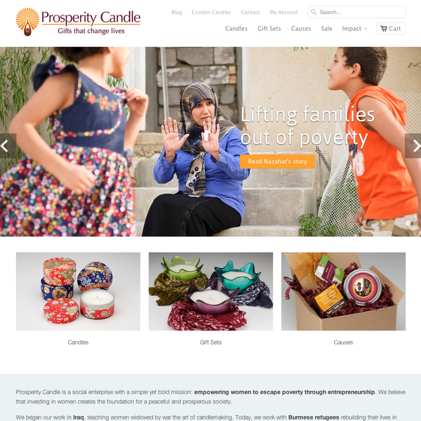 Marketing for Prosperity Candle