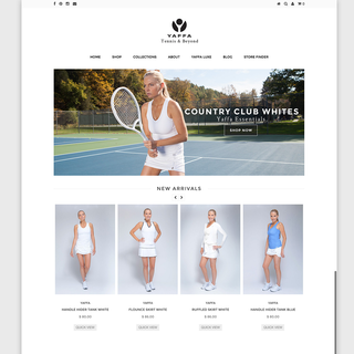 Randy Elles - Ecommerce Designer / Photographer / Marketer / Setup Expert - Yaffa Activewear Home Page