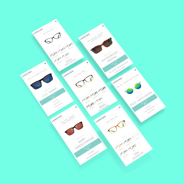LOOK/SEE product page