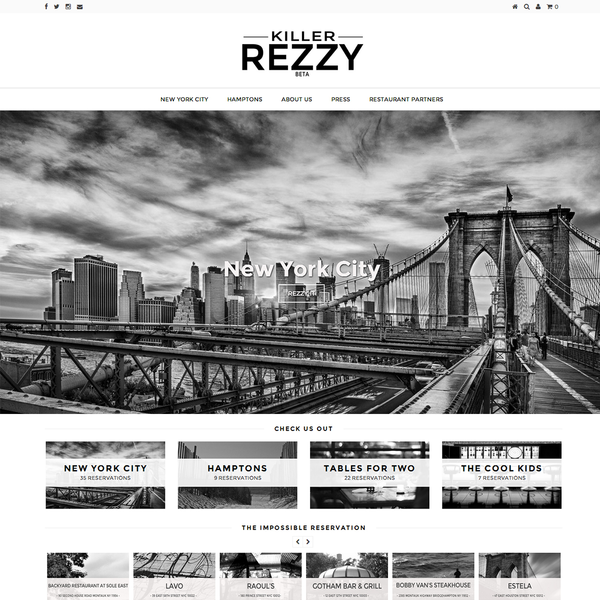 Killer Rezzy Home Page www.killerrezzy.com