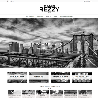 Mark Perini - Web Design | Marketing | Social Media Consulting - Ecommerce Designer / Marketer / Setup Expert - Killer Rezzy Home Page www.killerrezzy.com