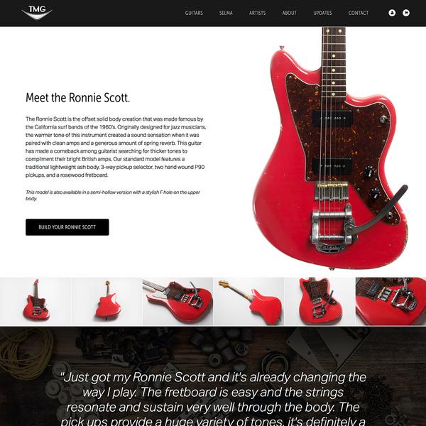 TMG Guitar Co | www.tmgguitarco.com