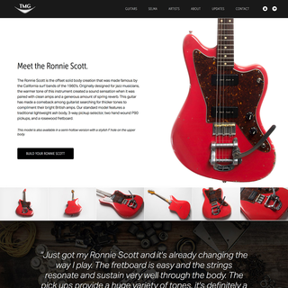 Rehash - Ecommerce Designer / Developer / Photographer / Setup Expert - TMG Guitar Co | www.tmgguitarco.com