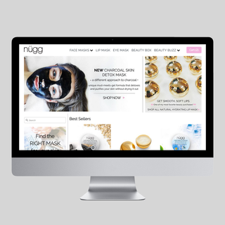 Nugg Beauty Website Redesign & Constant Updates