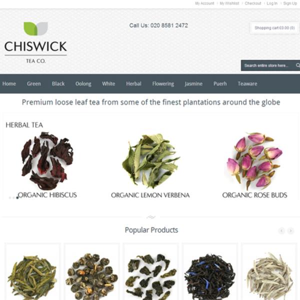 Chiswick Tea - Ecommerce