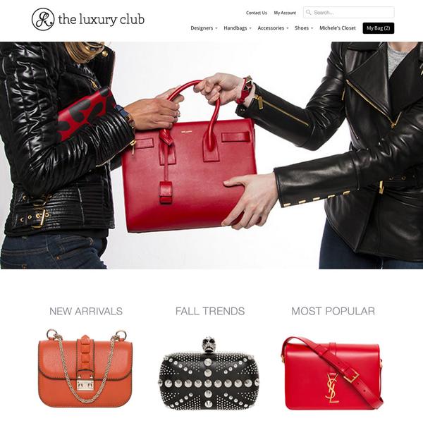 The Luxury Club - Designer Handbags