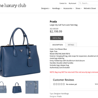 INDUSTRY11 - Ecommerce Designer / Developer / Marketer / Setup Expert - The Luxury Club - Designer Handbags