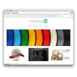 Desarrollo de la tienda online Filamentos3D.es