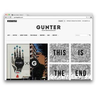 Desarrollo de la Tienda Online de Gunter Gallery