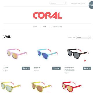 Shopify Apps - Ecommerce Developer / Setup Expert - Coral Sunglasses - Personaliza tus gafas de sol, enjoy the sun!