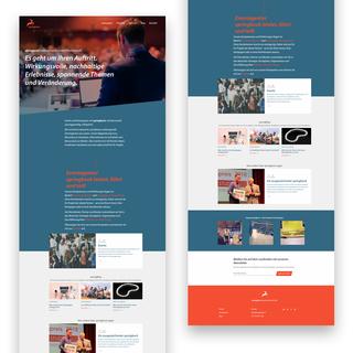 springbock.ch – Corporate Website nach Custom Design