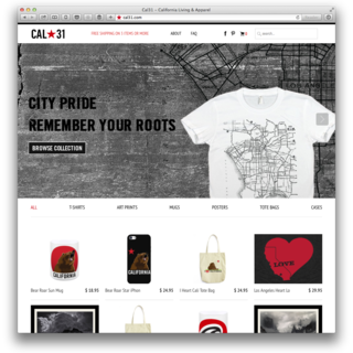 Leanometry LLC - Ecommerce Designer / Developer / Setup Expert - Custom eCommerce theme. http://cal31.com
