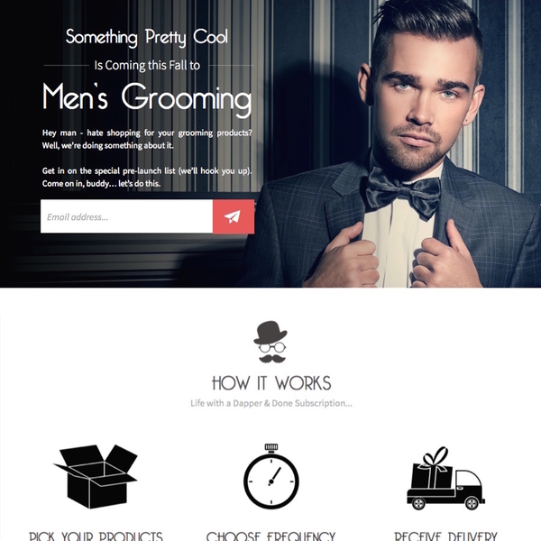 Built a custom subscription system on Shopify for e-commerce site Dapper&Done.