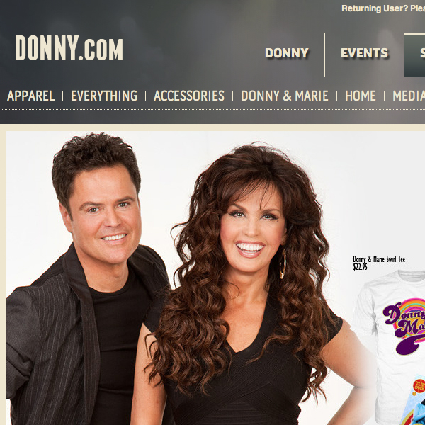 Donny Osmond Official Store