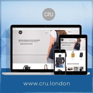 CRU London - Design   Store Setup