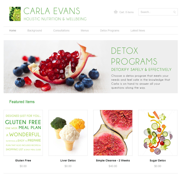Carla Evans - Nutritionist, Adelaide, Australia