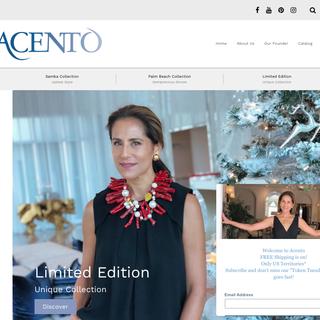 Accento Palm Beach | eCommerce | Social Media