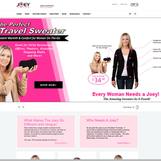 Joey Sweater | eCommerce | Product Videos
