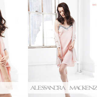 Shopify custom theme design and development for Alessandra Mackenzie.