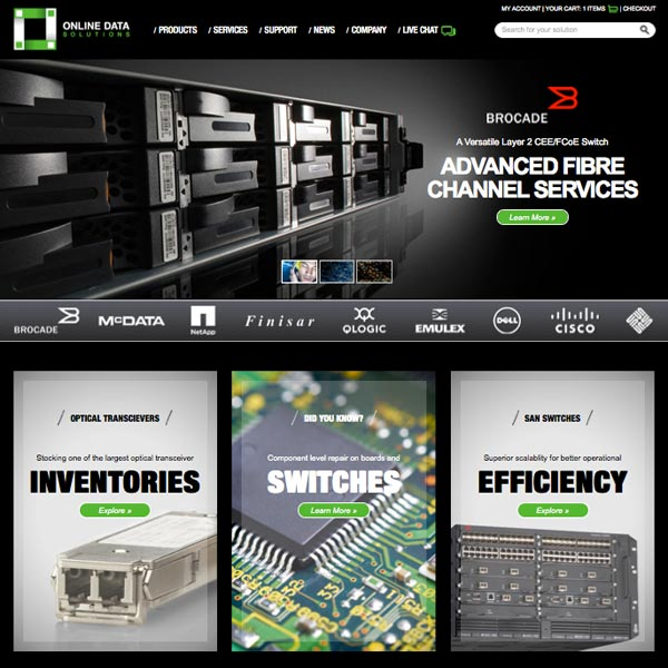 ODS - Planning and arhcitecture, interactive design, eCommerce