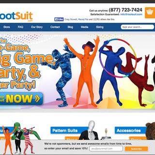 Rootsuit - Branding, interactive design, eCommerce