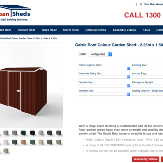 Wide Span Sheds Store