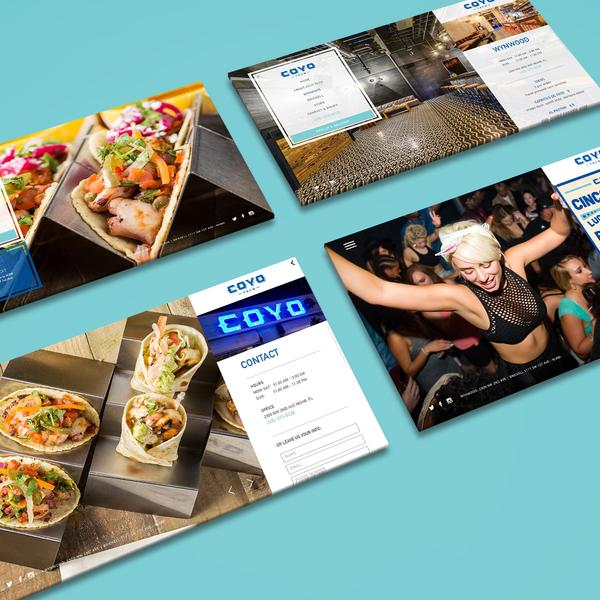 Coyo Taco Web Design
