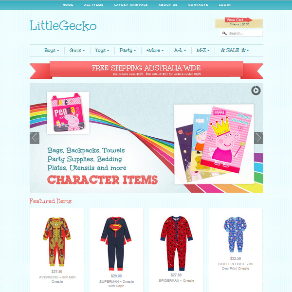 LITTLE GECKO Clothes for Kids