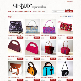 eCommerce Mentor - Ecommerce Designer / Photographer / Marketer / Setup Expert - LIL-BIRDY Bags & Accessories