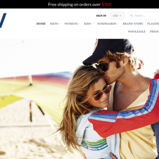 aviatornation.com a custom built mobile responsive store for women's fashion.
