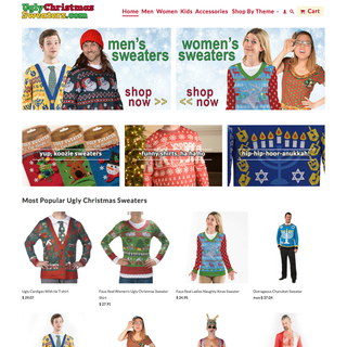 Alive Wired - Ecommerce Designer / Developer / Marketer / Setup Expert - UglyChristmasSweaters.com