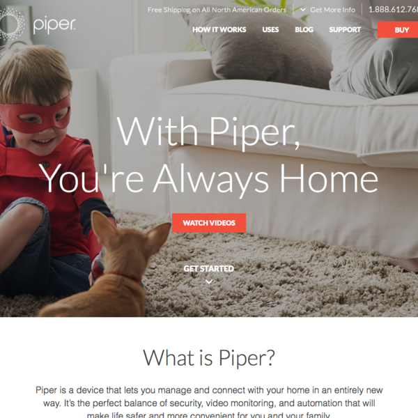 Piper | Wifi Surveillance Security System
