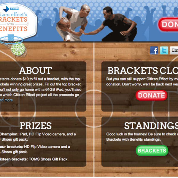Citizen Effect: Brackets with Benefits