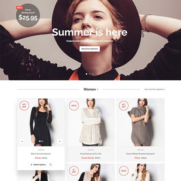 Polaris Shopify theme