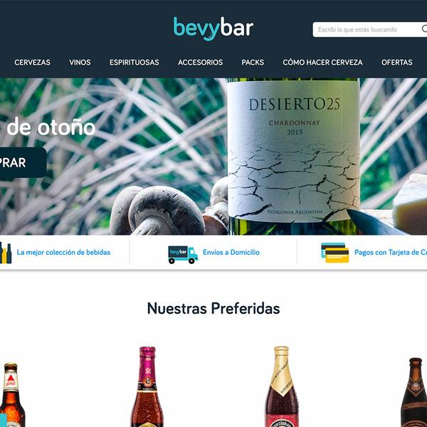 Bevybar for Anheuser-Bush Inbev Argentina