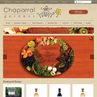 The folks at ChaparralGardens.com reported that sales of their artisan vinegars more than doubled.